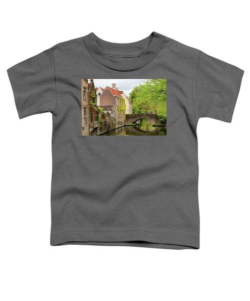 Bruges Footbridge Over Canal Toddler T-Shirt