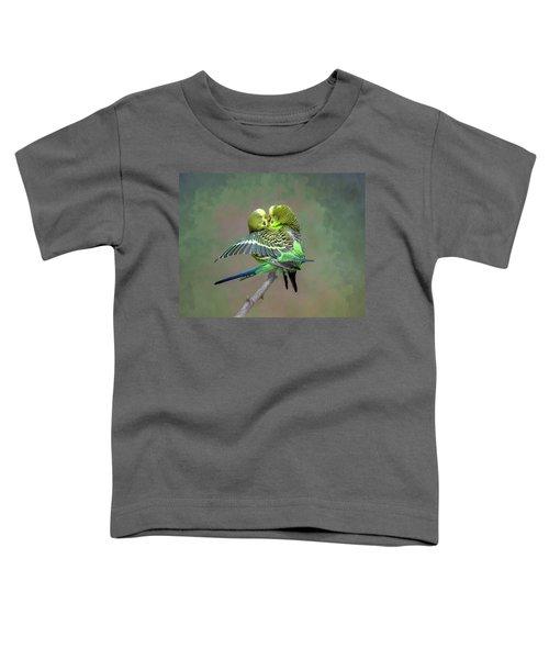 Budgie Love Toddler T-Shirt