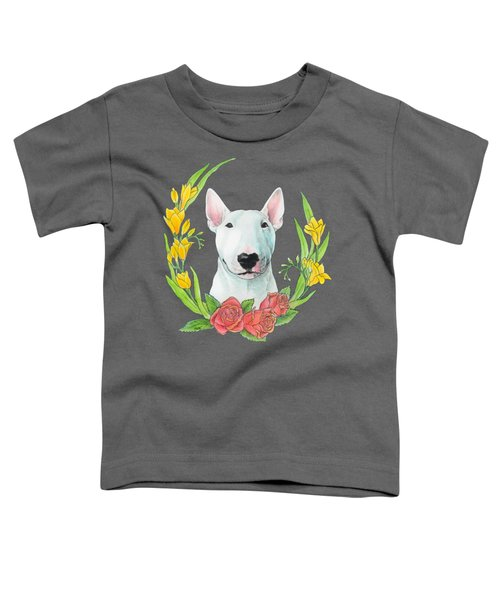 Bull Terrier Ivan Toddler T-Shirt