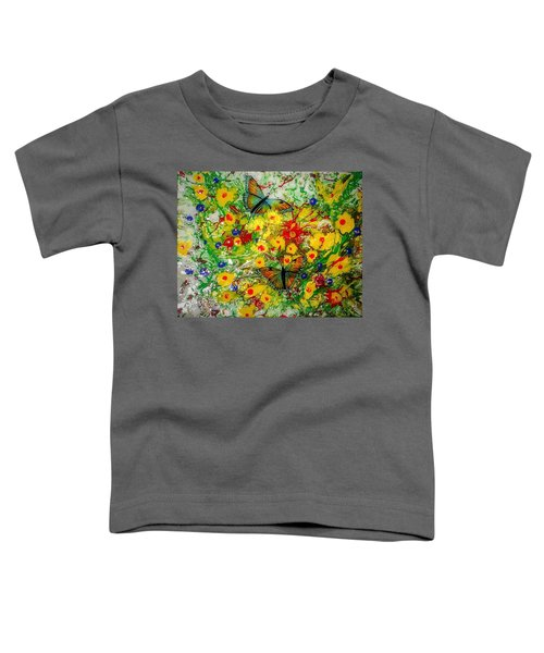 Butterfly Delight Toddler T-Shirt