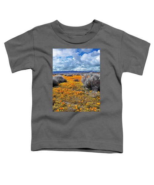 California Poppy Patch Toddler T-Shirt