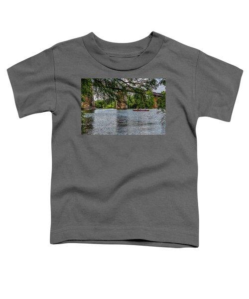 Canoeing Lady Bird Lake Toddler T-Shirt