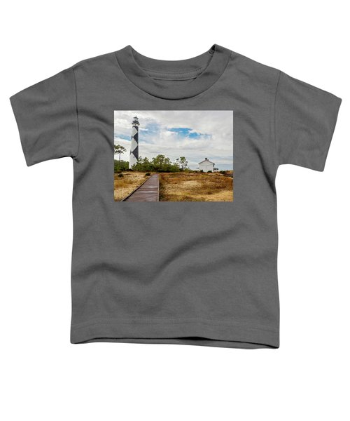 Cape Lookout Lighthouse No. 2 Toddler T-Shirt