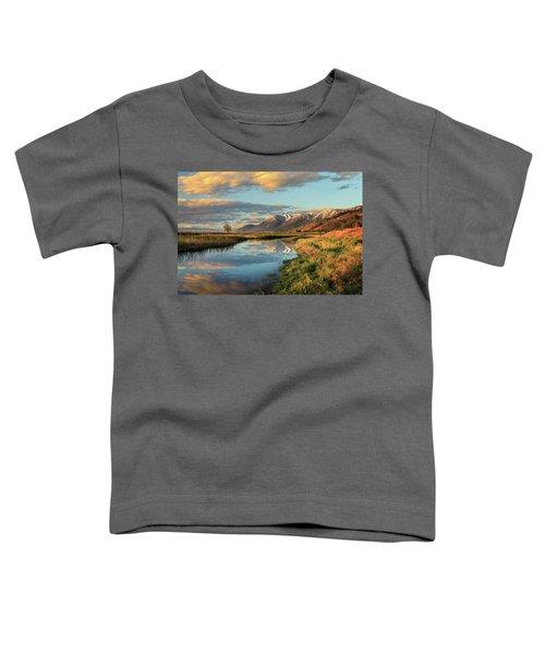 Carson Valley Sunrise Toddler T-Shirt