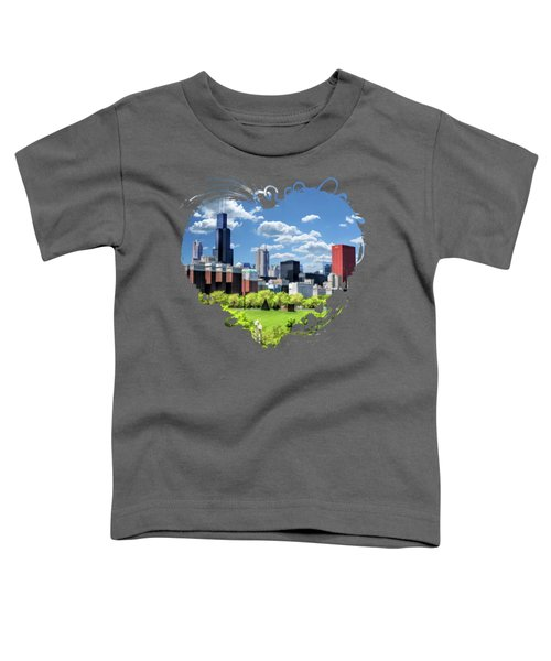 Chicago Historic Michigan Avenue Toddler T-Shirt