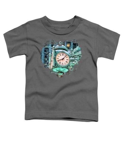 Chicago Marshall Field State Street Clock Toddler T-Shirt