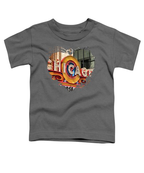 Chicago Theatre Marquee Toddler T-Shirt