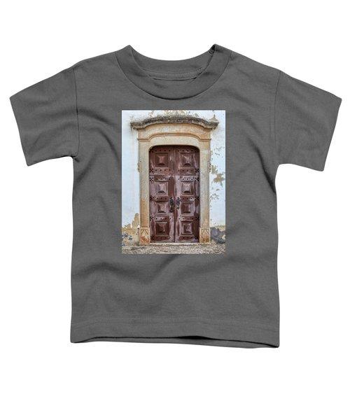 Church Door Of Obidos Toddler T-Shirt