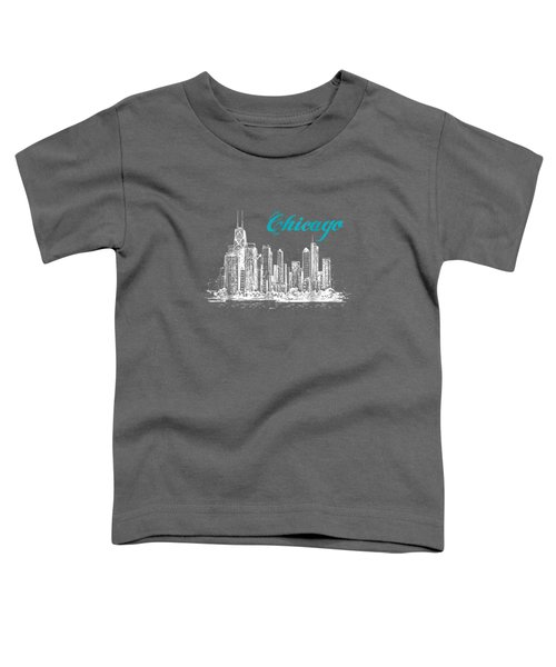 City Of Chicago T-shirt Toddler T-Shirt