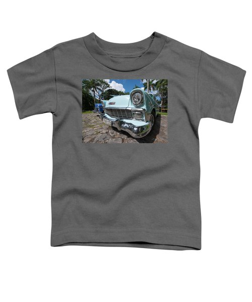 Classic Cuban Chevy Toddler T-Shirt