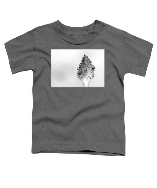 Clematis Bud In Rain Toddler T-Shirt