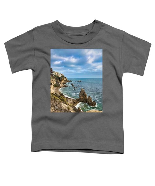 Cliffs Of Corona Del  Mar Toddler T-Shirt