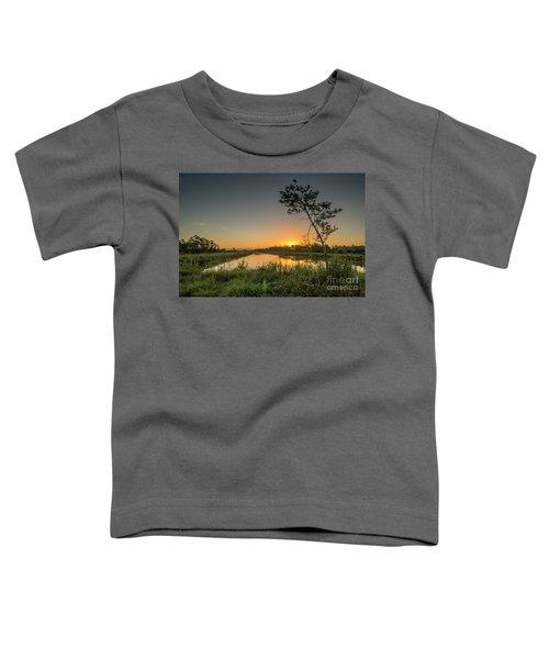 Cloudless Hungryland Sunrise Toddler T-Shirt