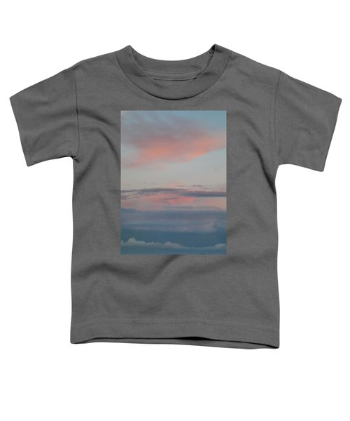 Clouds Over The Ocean Toddler T-Shirt