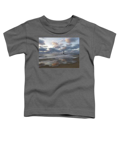 Cloud's Reflections At The Inlet Toddler T-Shirt