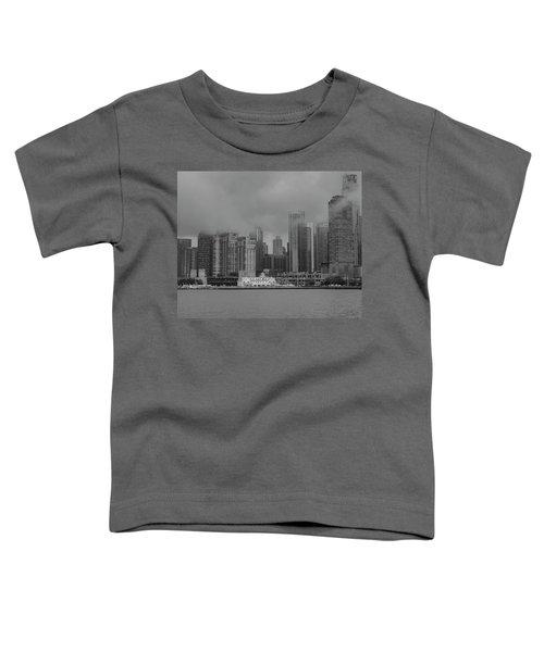Cloudy Skyline Toddler T-Shirt