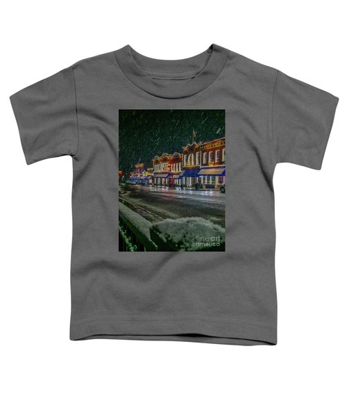 Cold Night In Cripple Creek Toddler T-Shirt