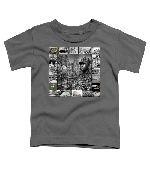 Colonel Trimble Collage Toddler T-Shirt
