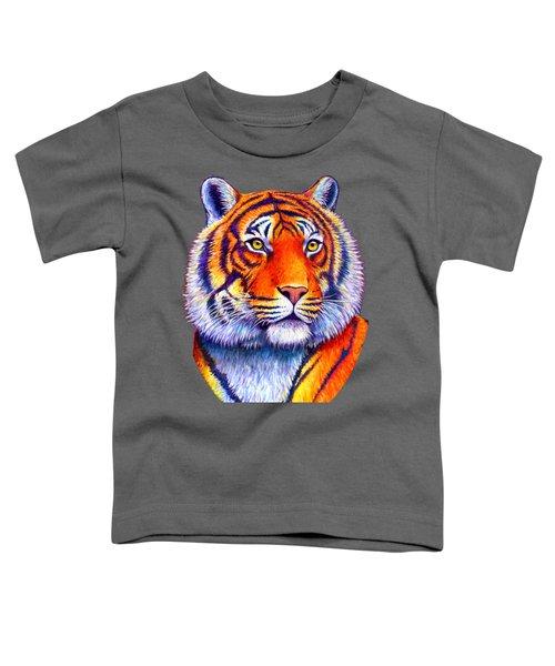 Colorful Tiger Toddler T-Shirt