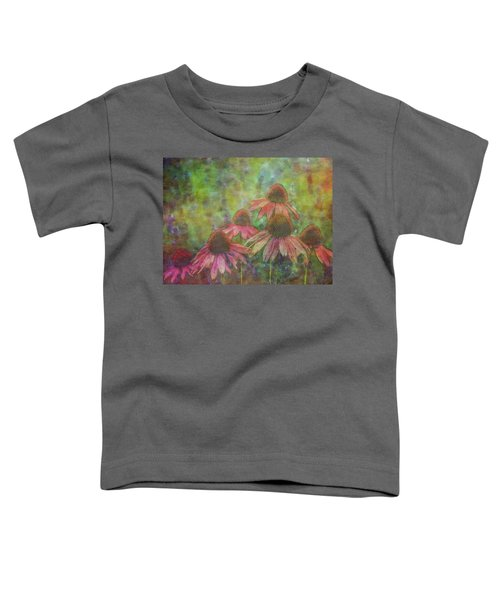 Coneflowers Among The Lavender 1667 Idp_2 Toddler T-Shirt