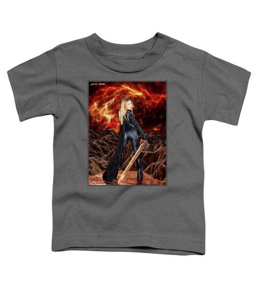 Cosmic Destroyer Toddler T-Shirt