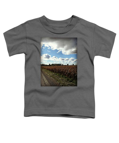 Country Autumn Curves 2 Toddler T-Shirt