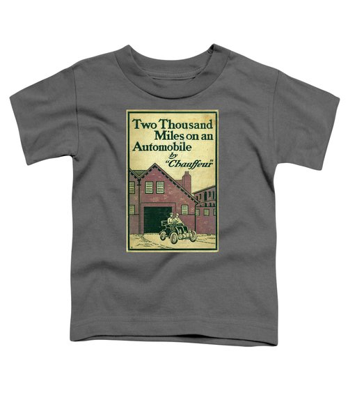Cover Design For Two Thousand Miles On An Automobile Toddler T-Shirt