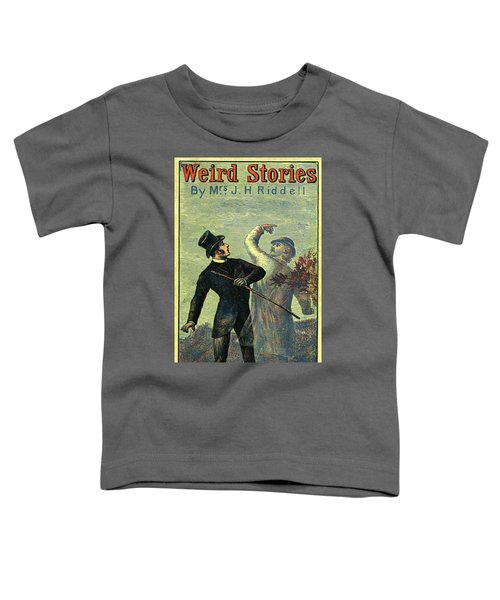 Victorian Yellowback Cover For Weird Stories Toddler T-Shirt