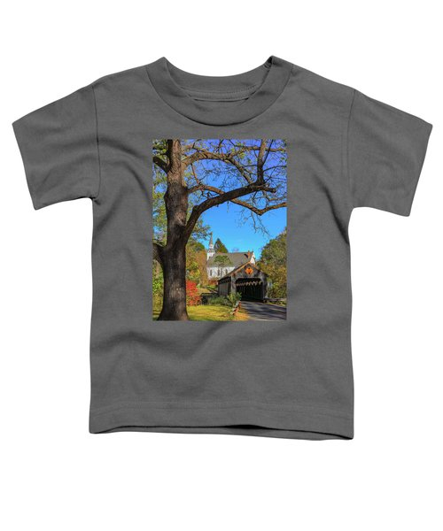 Covered Bridge Toddler T-Shirt