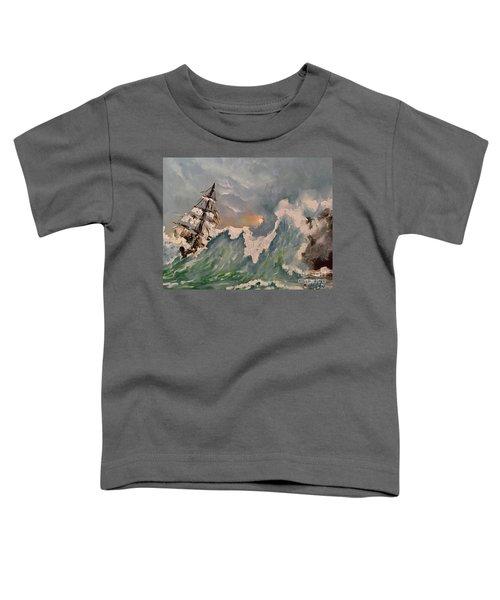 Crashing Waves Toddler T-Shirt