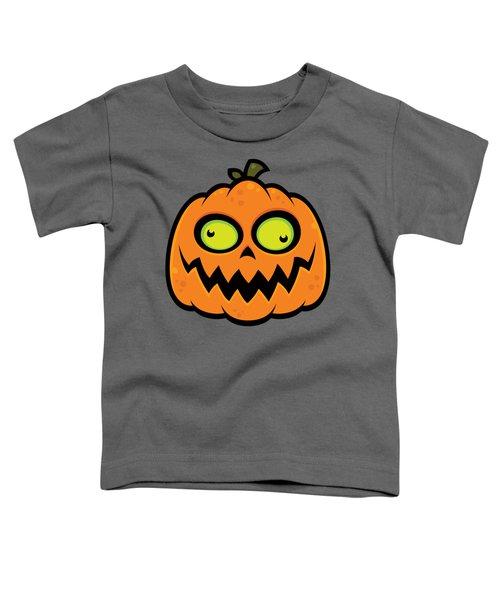 Crazy Pumpkin Toddler T-Shirt