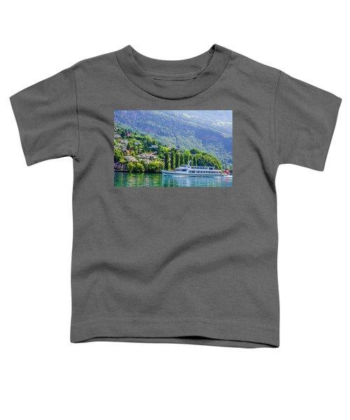 Cruising Lake Lucerne Toddler T-Shirt
