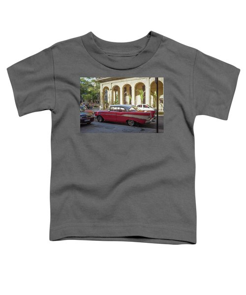 Cuban Chevy Bel Air Toddler T-Shirt