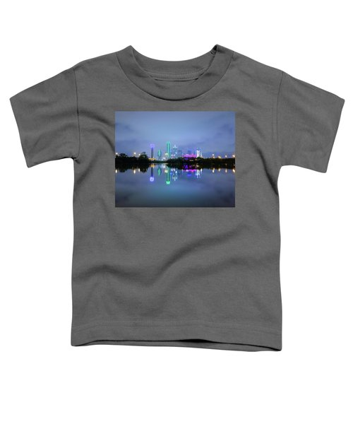 Dallas Cityscape Reflection Toddler T-Shirt
