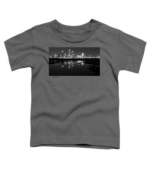 Dallas Texas Cityscape Reflection Toddler T-Shirt