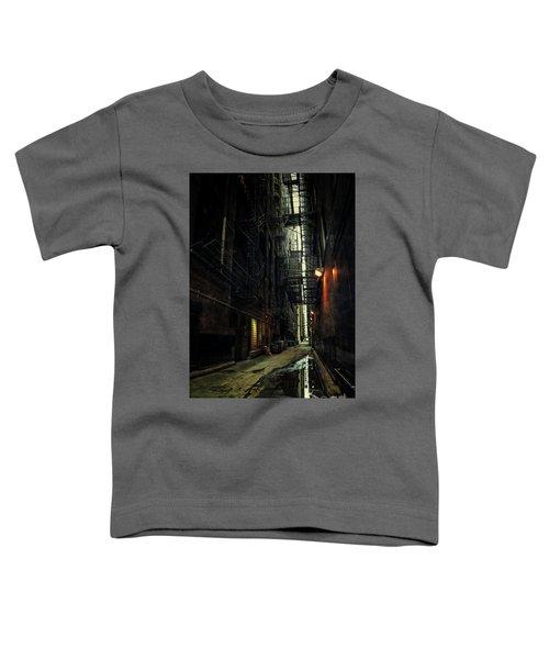Dark Chicago Alley Toddler T-Shirt
