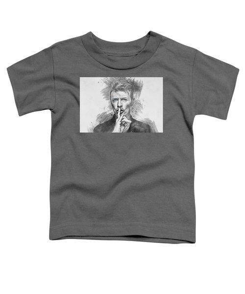 David Bowie. Toddler T-Shirt