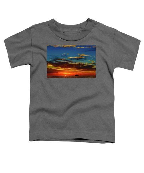 December 17 Sunset Toddler T-Shirt