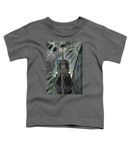 Deep Cello Toddler T-Shirt