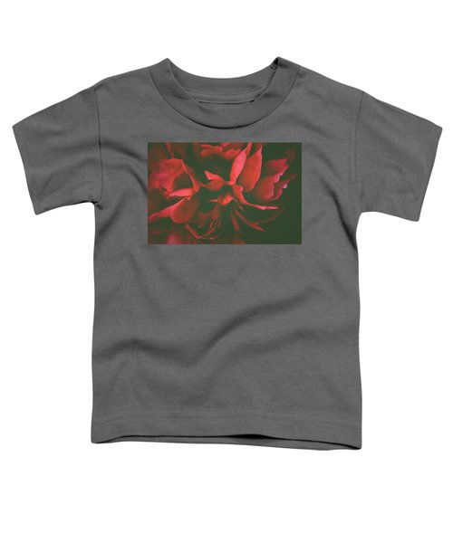 Deep Red Toddler T-Shirt