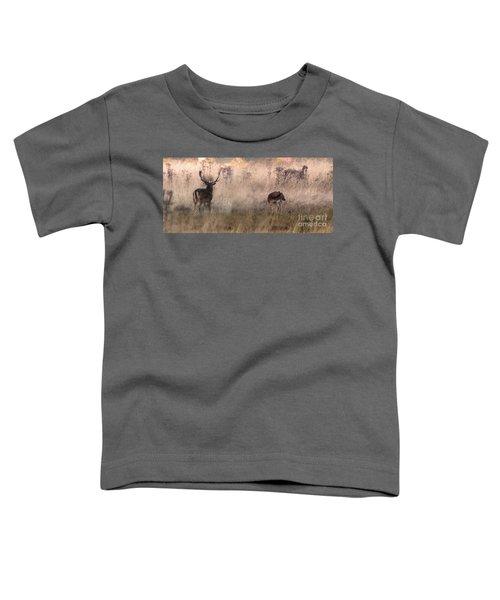 Deer In The Grasses Toddler T-Shirt
