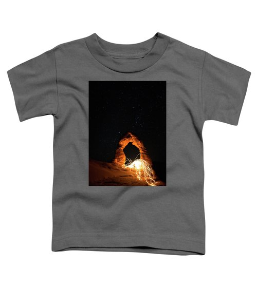 Delicate Arch Steel Wool Toddler T-Shirt