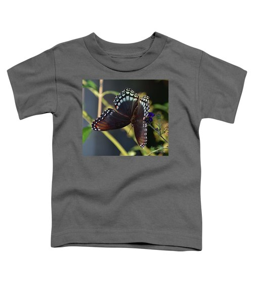 Delicate Beauty Red-spotted Purple Toddler T-Shirt