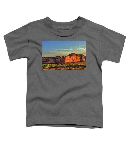 Desert Sunrise In Color Toddler T-Shirt
