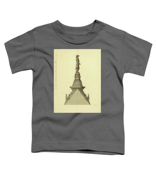Design For City Hall Tower Toddler T-Shirt
