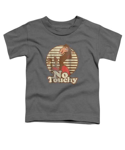 Disney Emperor's New Groove Kuzco Llama No Touchy T-shirt Toddler T-Shirt