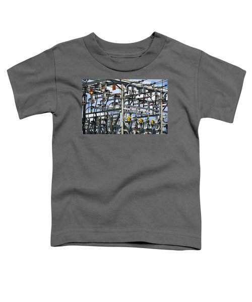 Toddler T-Shirt featuring the photograph Distribution by Carl Young