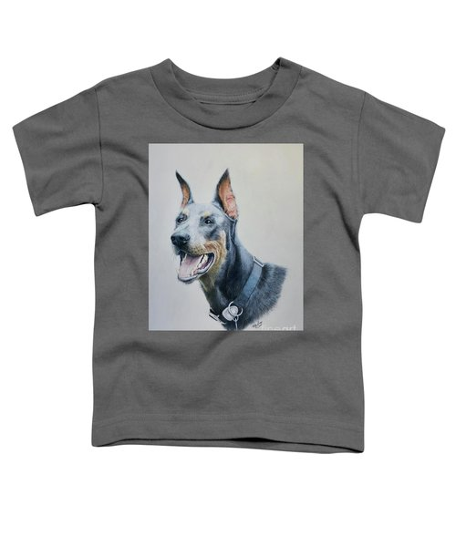 Doberman Toddler T-Shirt