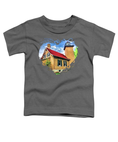 Door County Eagle Bluff Lighthouse Toddler T-Shirt