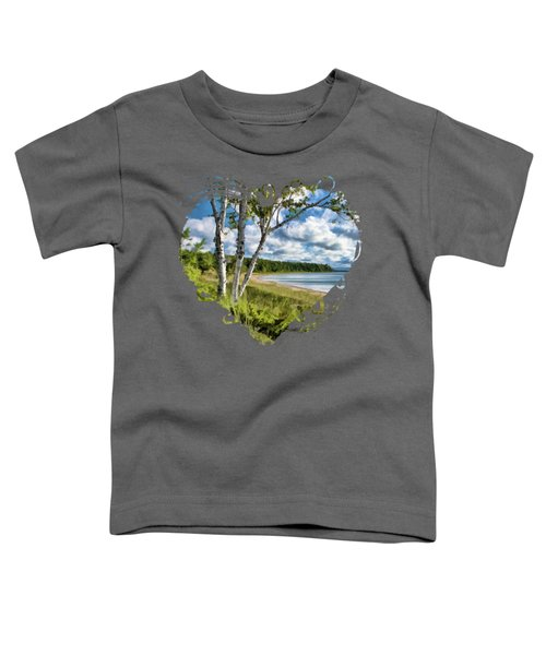 Door County Europe Bay Birch Toddler T-Shirt